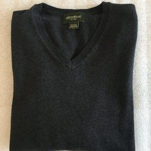 Men's Eddie Bauer  V-Neck Sweater